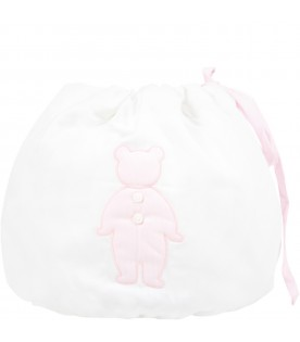 White bag for baby girl