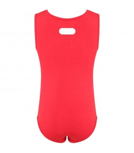Red body for girl with logo