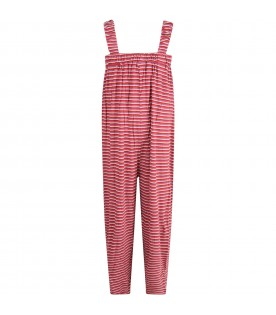 Multicolor jumpsuit for girl