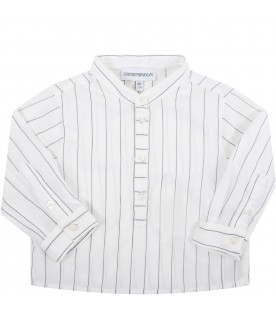 White shirt for baby boy with eagle