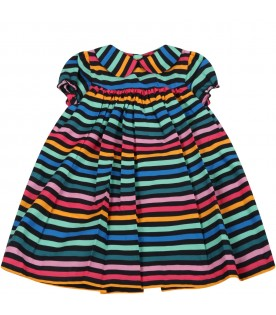 Multicolor dress for babygirl