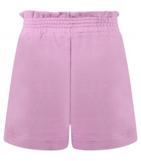 Lilac short for girl with logo