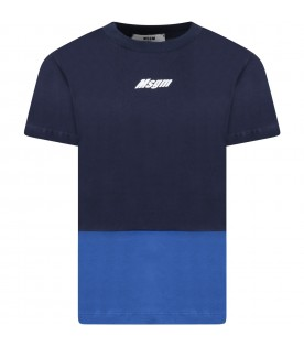 Colorblock t-shirt with logo for boy