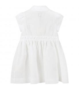 White dress for babygirl