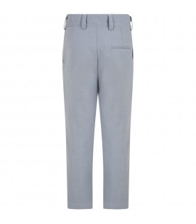 Light blue trouser for kids