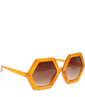 Orange ''Skyla mango'' sunglasses for kids