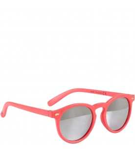 Red ''Sun shine'' sunglasses for kids