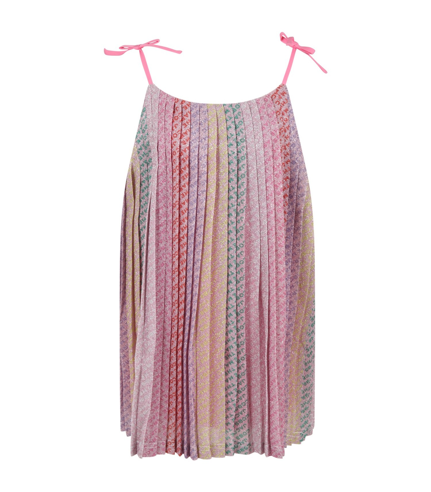 The Marc Jacobs Multicolor dress for baby girl with logo