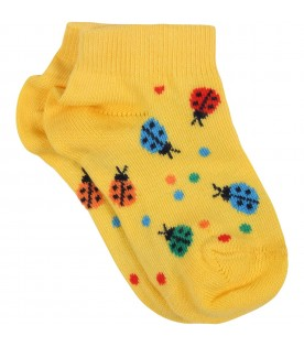 Multicolor set for baby kids with ladybugs