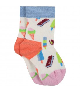 Multicolor set for baby kids with fruit