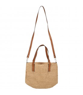 Beige bag for woman