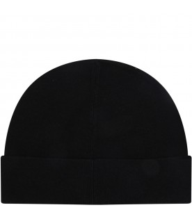 Black hat for kids with logo