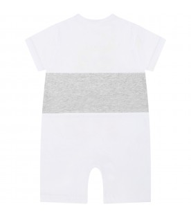 Multicolor babygrow for baby kids with tiger