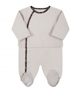 Beige set for babykids with FF