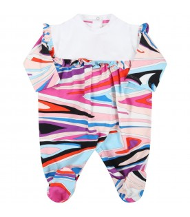 Multicolor set for baby girl