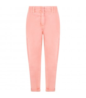 Pink jeans for girl