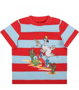 Multicolro T-shirt for baby boy