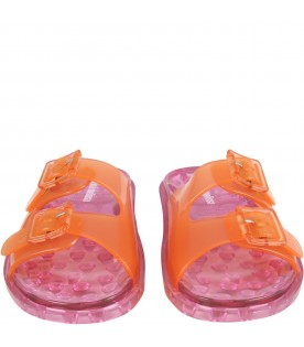 Multicolor sandals for girl