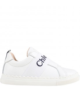 White sneakers for girl