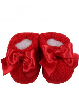 Red suit for baby girl