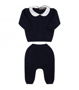 Blue suit for baby boy
