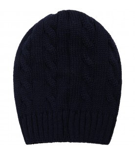 Blue hat for baby boy