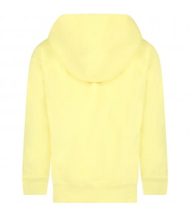 """""""Medelyn"""" sweater for girl with multicolor writing"""