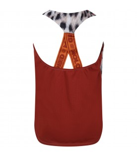 Multicolor tank-top for girl