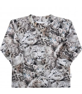 Multicolor T-shirt for kids with tiger