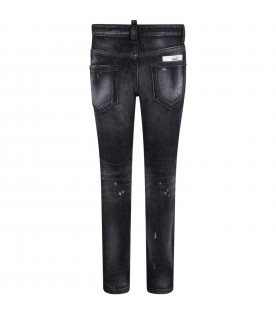 Grey ''Cool Guy'' jeans for boy
