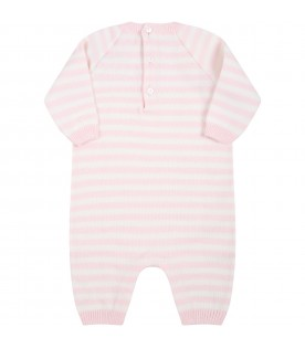 Multicolor babygrow for baby girl