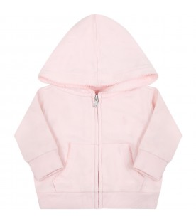 Tracksuit for baby girl with pony logo