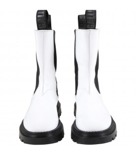 White boots for girl