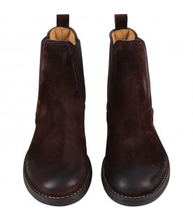 Brown boots for kids