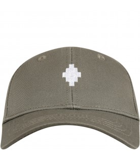 Military green hat for kids
