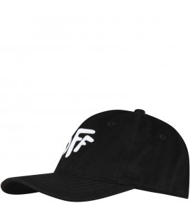 Black hat for kids with Off logo