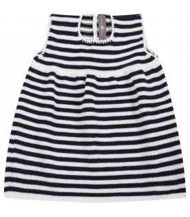 Multicolor dress for baby girl
