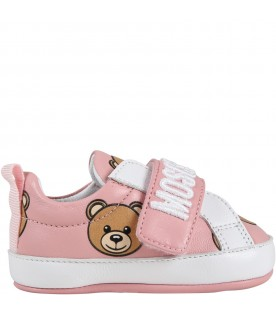 Multicolor sneakers for baby girl