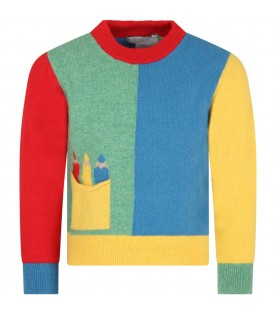 Multicolor sweater for kids