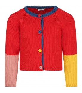 Multicolor cardigan for baby kids