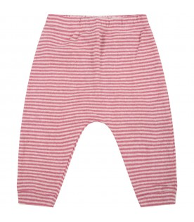 Multicolor trousers for baby girl