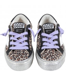 Multicolor ''May'' sneakers for girl