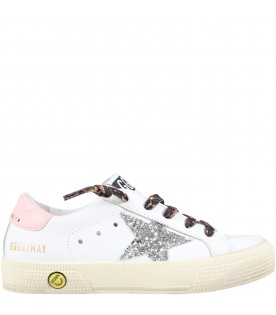 Multicolor ''Old school'' sneakers for girl