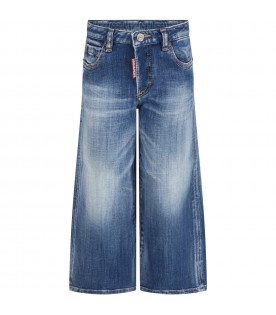 Light blue ''Page'' jeans for kids