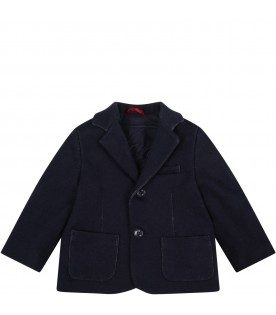 Blue jacket for baby boy