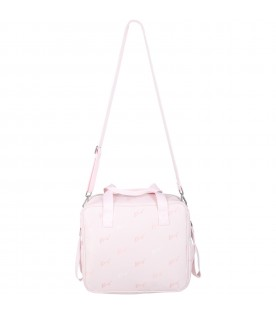 Pink changing bag for baby girl