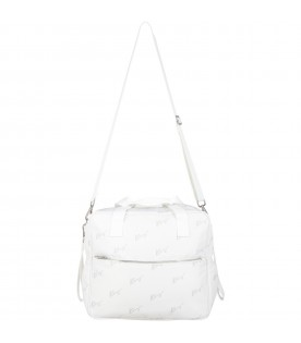 White changing bag for baby kids