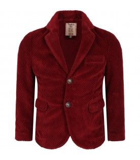 Red ''Topino'' jacket for boy