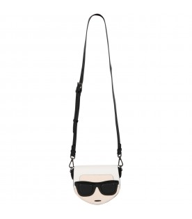 Black bag for girl with Karl Lagerfeld