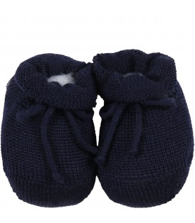 Blue bootee for baby kids